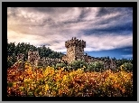Kalifornia, Napa, Valley, Castello, Di Amorosa, Winnica